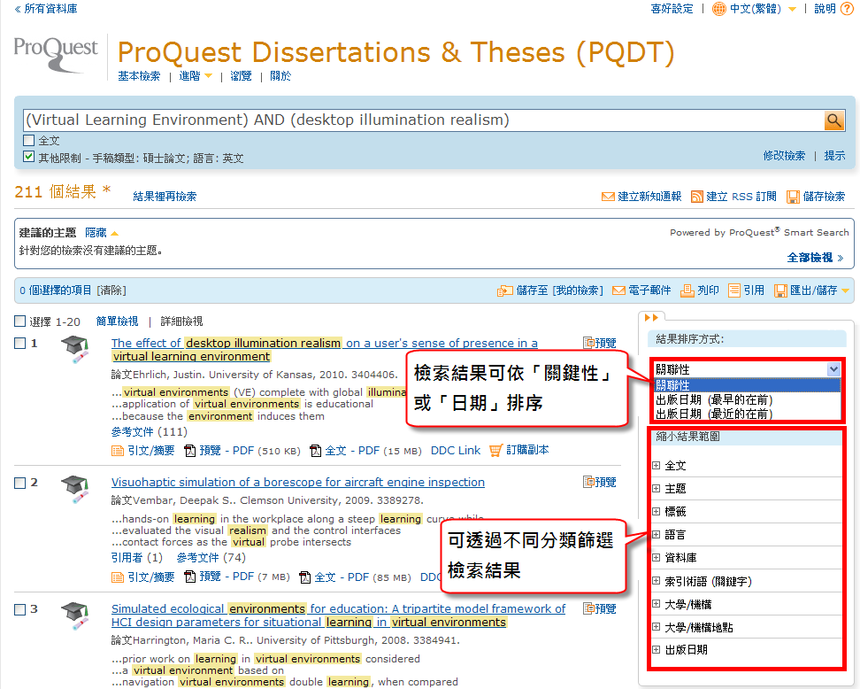 umi dissertation abstracts database