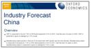industry forecast china